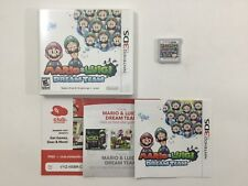Mario & Luigi Dream Team Nintendo 3DS Authentic Tested CIB