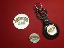 VINCENT MOTORCYCLE BLACK SHADOW COLLECTORS SET:keyring/badge/sticker
