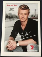 NIC BISHOP *Peter Baker* HOME AND AWAY Pre-Signed Cast Fan Card