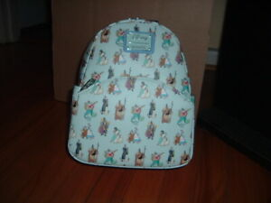 LOUNGEFLY DISNEY PRINCESS & FATHER. MINI BACKPACK~ WITH TAGS~ NEW~