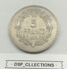 5 FRANCS 1938 LAVRILLIER nickel / Réf:108/M05