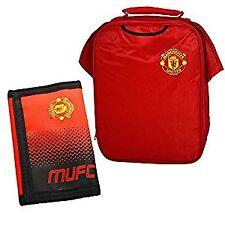 Manchester United Kit Borsa da pranzo design e della sfumatura Wallet Combo