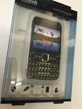 Nokia E63 Fitted Silicon Case Cover in White SCC4388. Brand New in Original Pack