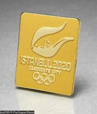 OLYMPIC PINS BID CITY CANDIDATE 2020 ISTANBUL TURKEY EARLY LOGO DESIGN