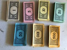 Monopoly play money Replacement Crafting Monopoly