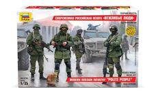 Zvezda 3665 - 1/35 Modern Russian Infantry polite People-NUOVO