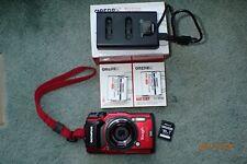 Olympus Tough Waterproof TG-5 Digital Camera (Red) - 12MP, 4K 30FPS Video, GPS