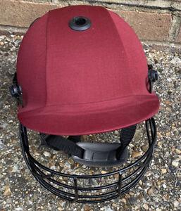 Albion Club 2000 Cricket XL Helmet In Maroon