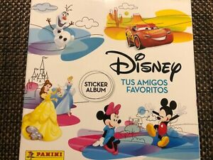 Album Disney Friends 160 Lot Stickers Not Reapet No Album