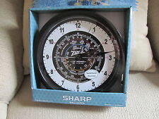 Amateur Ham  Radio Wall Clock ZENITH DIAL Zulu time -  NEW in box