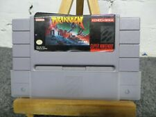 Drakkhen Super Nintendo SNES Game