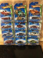 2009 Complete Hot Wheels Treasure Hunt Set all 12 USA long cards BONE SHAKER ++