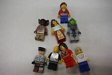 Lego Mini Figure Lot of 8 Miscellaneous Figures Medic, Hippie 022616DBEL 7