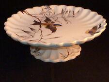 Stylish Antique Victorian Songbird Tazza c1890.