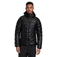 adidas Mens Terrex Icesky Hooded Jacket Top Black Sports Outdoors Warm Windproof