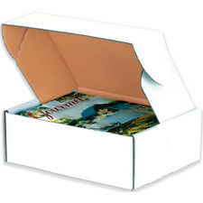 50 - 12 x 12 x 2 White - Deluxe - Front Lock Protective Mailer Boxes