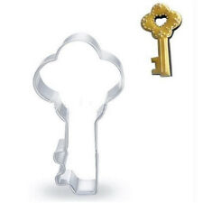 Stainless Steel Cookie Cutter Key Chocolate Cake Biscut Cutter Fondant DIY Mold♫