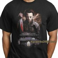 Vintage Michael Myers T Shirt Halloween Horror Nights Men's Tee US Size S-3XL