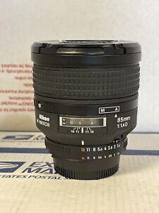 Nikon AF Nikkor 85mm F/1.4D 1:1.4D