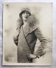 ORIGINAL BUFF BULLARD AUTOGRAPH SIGNED 8 x 10 1930s WARDROBE MISTRESS COLLECTION