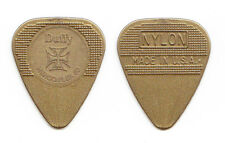 New listing The Cult Billy Duffy Gold Herco Guitar Pick 1 Dot Variation 2010 Tour