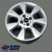 """BMW Mini Cooper R50 Silver Wheel Alloy Rim 16"""" ET:48 6,5J 7-Spoke 92 6763297"""