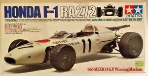 Tamiya Die-Cast Metal HONDA F-1 RA272 1965 1/12  boxed