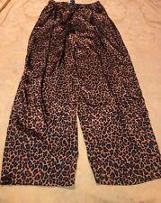 Cacique Sensual Womens  Sz Large 14/15  Pajama Bottoms Lounge Pants Animal Print