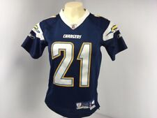469470b0538 Reebok NFL Los Angeles Chargers Tomlinson  21 Youth Football Jersey Stitched  S