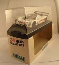 Vitesse 039B Peugeot 905 EV0 1 Le Mans 1993 Brabham Bouchut boite 1/43
