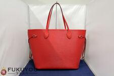 Louis Vuitton M41159 Epi Neverfull MM Kokuriko Red Tote Hand Bag Used