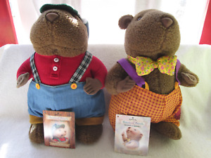 Hallmark Storybook Friends Granville Goundhog, two, Crayola, 1997,  12""