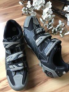 Specialized BG Mens 14.5 EU 48 Black 3 Strap Mountain Bike cycling Shoes