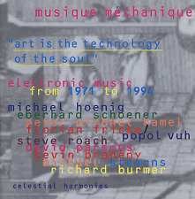 MUSIQUE MECHANIQUE: ELECTRONIC MUSIC FROM 1971 TO 1994 (2CD) — VARIOUS ARTISTS