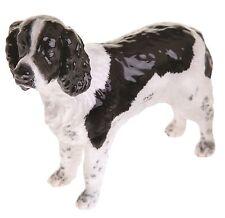 Beswick Springer Spaniel Inglés Negro Blanco Cerámica Perro Estatuilla 12.5 cm JBD80BW