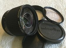 MINOLTA RF ROKKOR 250mm 1:5.6  MIRROR LENS with MINOLTA MD MOUNT