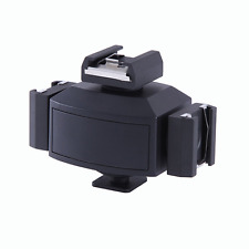 Triple Camera Shoe Bracket Photo Video Accessory for Lights Monitors Microphones