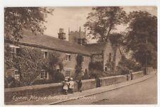 Eyam, Plague Cottages & Church Postcard, B101