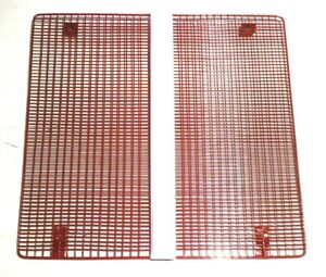 RED GRILLE, 440mm x 410mm; FOR DAVID BROWN 990, 995 & 996 TRACTORS