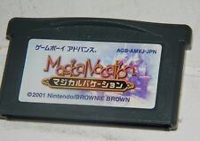 Magical Vacation (Nintendo Game Boy Advance, 2001) GBA Japan