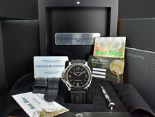 PANERAI 44mm Steel Luminor Base Destro Left Handed BOX CARD PAM 219 SANT BLANC