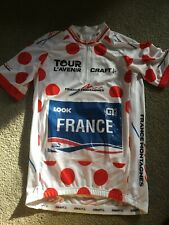 Tour De L'Avenir Polka Dot King Of Mountains Jersey Madouas FDJ (Tour De France)