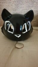 CAT TEA LIGHT CANDLE HOLDER, HALLOWEEN