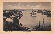 CURACAO, DWI ~ SINT ANNA BAY OVERVIEW, SHIPS ~ c. 1904-14