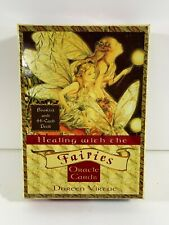 Healing With The Fairies Oracle Cards by Doreen Virtue w/ Guidebook & 44 Deck