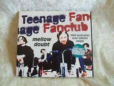 TEENAGE FANCLUB MELLOW DOUBT 1995 AUSTRALIAN TOUR ED SINGLE GEFFEN GEFDM 22083