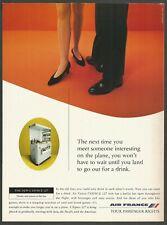 Air France l`ESPACE 127 buffet bar - 1995 Airlines Print Ad