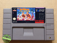 The Flintstones: The Treasure of Sierra Madrock SNES Ntsc Version