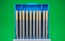 3.2mm 10Pcs WL15 1.5% Lanthanated Tungsten Electrode GOLD Bobthewelder OZ