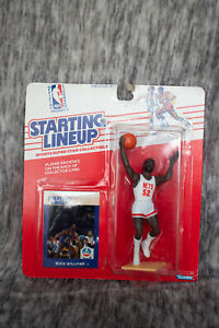 Starting Lineup Buck Williams NBA 1988 NIP Basketball Brand New